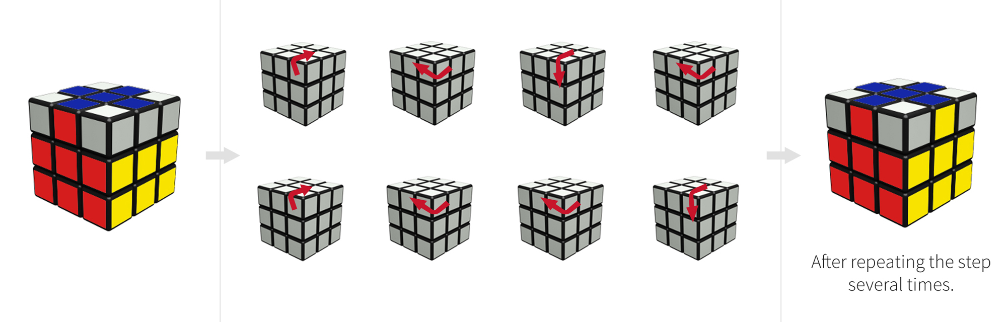 How to Solve a Rubik's Cube - Pictures for Beginners!